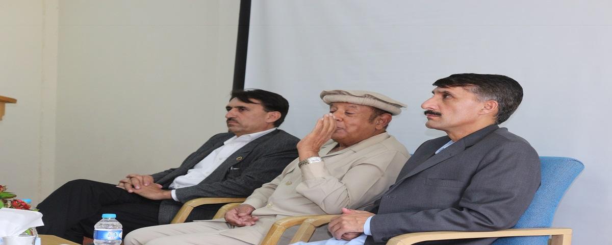 Prof. Dr. Aziz Ali Najam visits campus