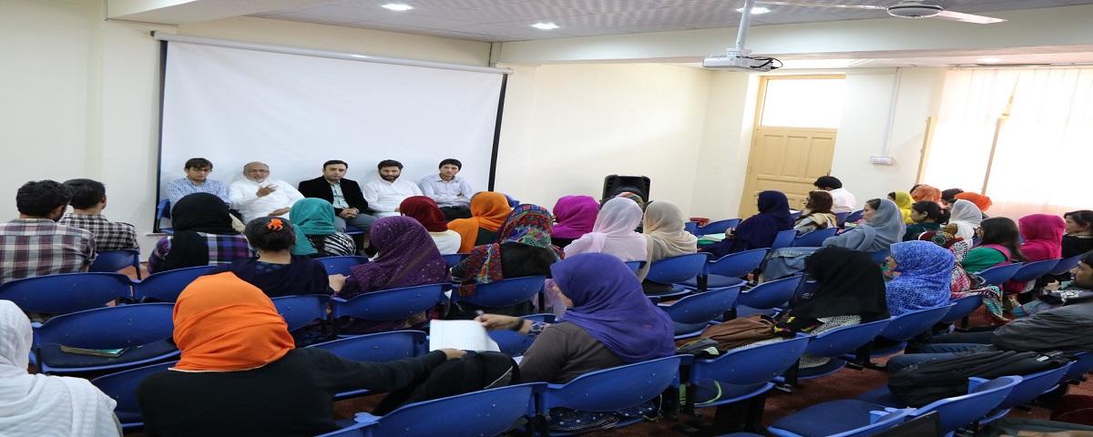 Prof. Dr. Muhammad Idrees visits campus